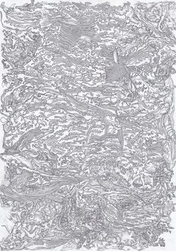 order nr. az15326 / 29,70 x 21,00 cm / pencil on paper